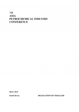 Thailand Country Report 2015 (APIC2015) Korea
