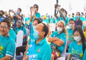 กิจกรรมเก็บขยะชาดหาดเนื่องในวันอนุรักษ์ชายฝั่งสากล ประจำปี 2563 ครั้งที่ 18